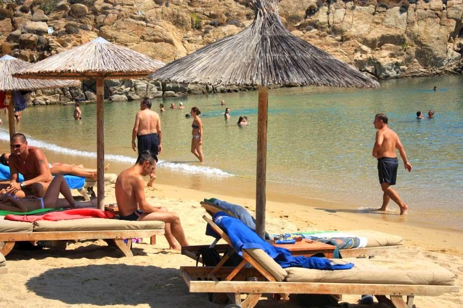 Superparadise Beach in Mykonos