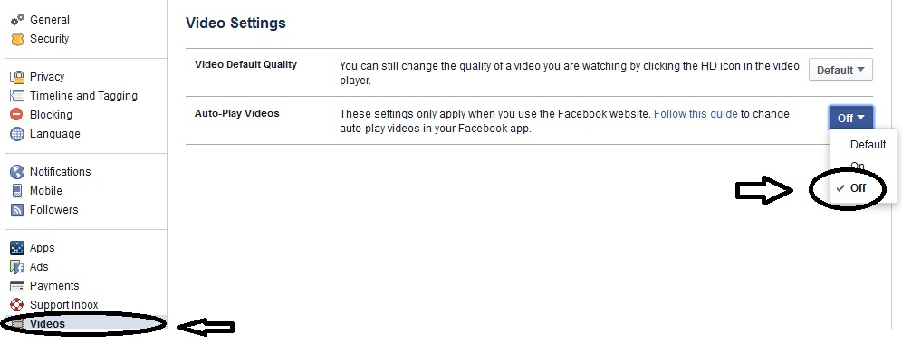 STOP AutoPlay Facebook : Cara Mudah Buat Video Facebook Tidak Putar Lagi