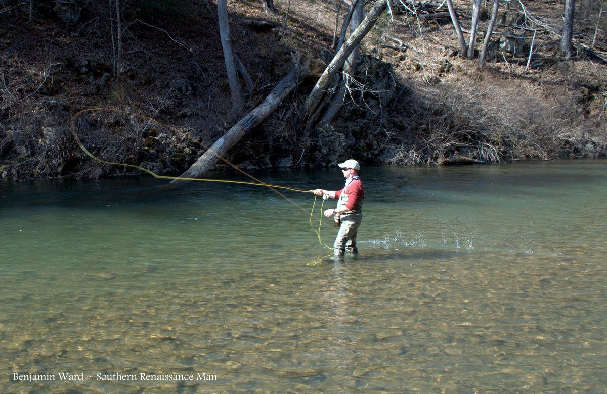 Southern renaissance man jackson river va fly fishing for Trouts fishing report