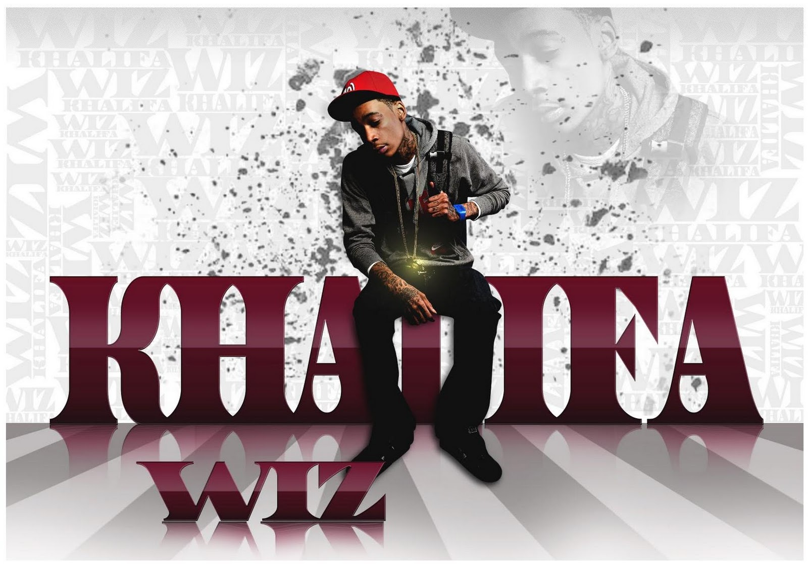 Wiz Khalifa Hot Wallpaper 2011