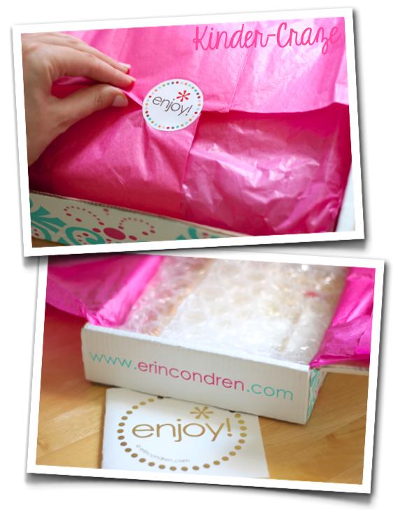 Erin Condren Life Planner unboxing... such pretty packaging