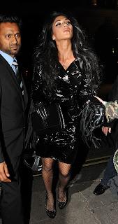 Nicole Scherzinger arriving at Mahiki Nightclub in London
