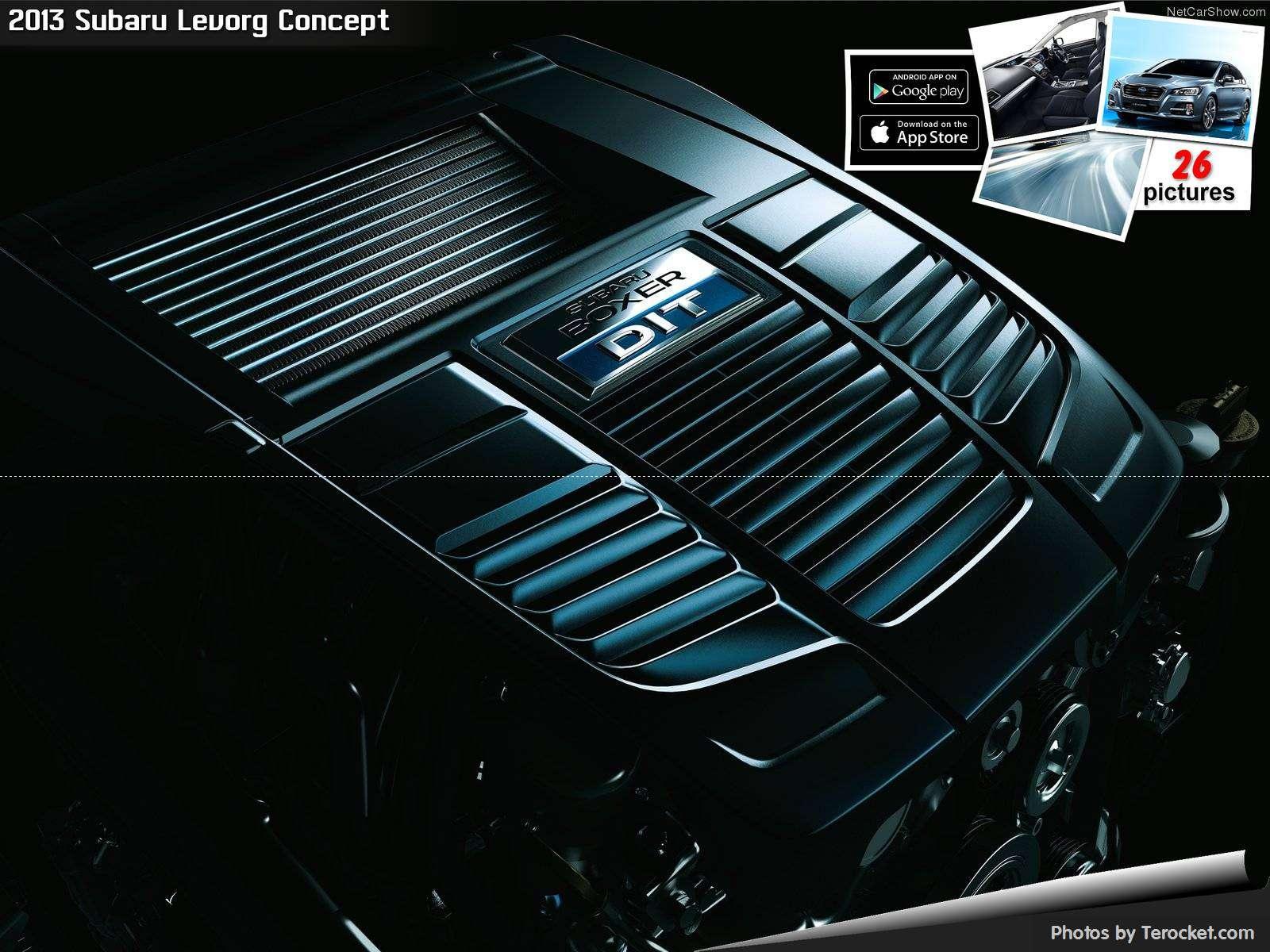 Hình ảnh xe ô tô Subaru Levorg Concept 2013 & nội ngoại thất