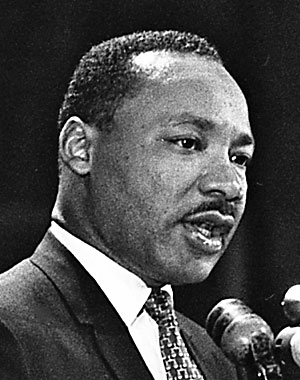 How did Martin Luther King Jr influence many people?