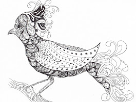 Zentangle Coloring Pages Free Printable