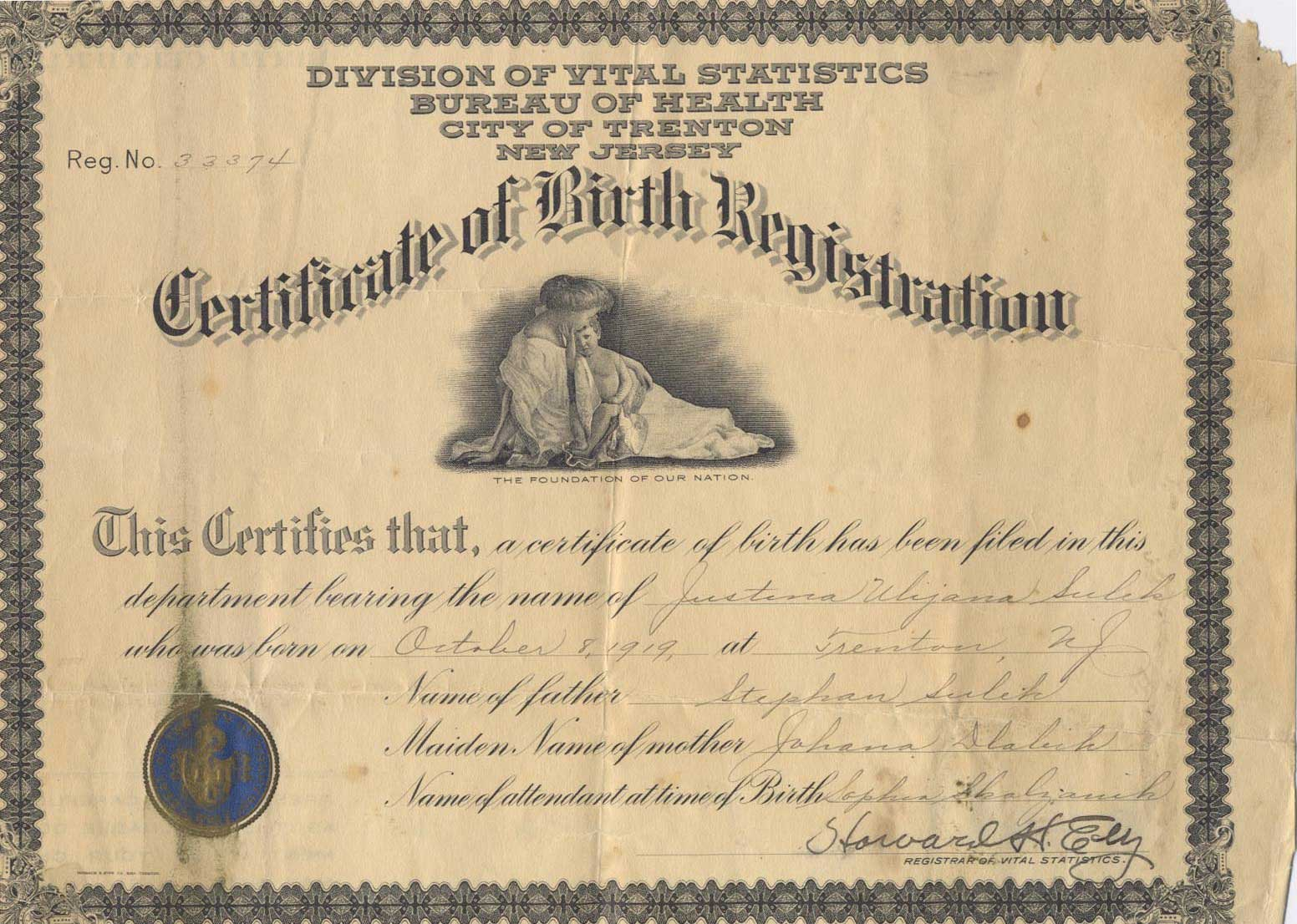 Weddings Birth Certificates What A News Cycle For Family