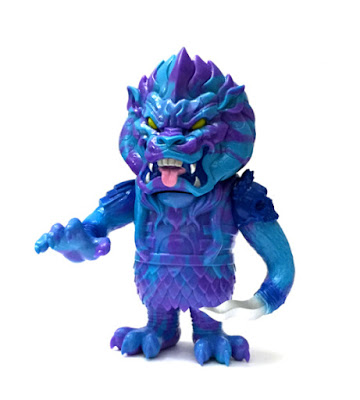 "Designer Con 2015 Exclusive ""Blue Beast"" Mongolion by L'amour Supreme"