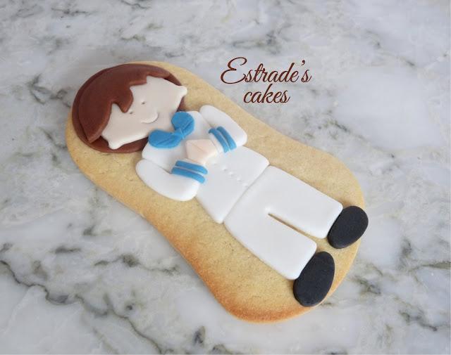 galletas de niño de Comunión 3
