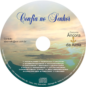 NOVO CD DO CONJUNTO ÂNCORA DA ALMA!