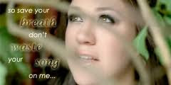 Kelly Clarkson Don't Waste Your Time [Lyrics Video]
