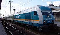 ARRIVA de DB le come la merienda del eje luso-gallego a RENFE