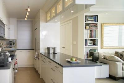 espacio reducido en cocina
