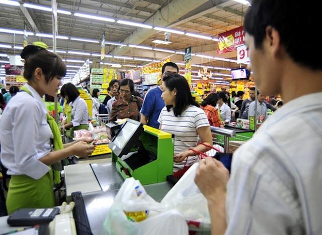 công việc của thu ngân siêu thị