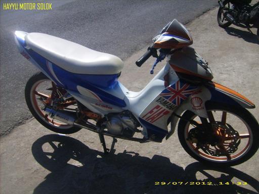 Modif Motor Yamaha Vega R 2007