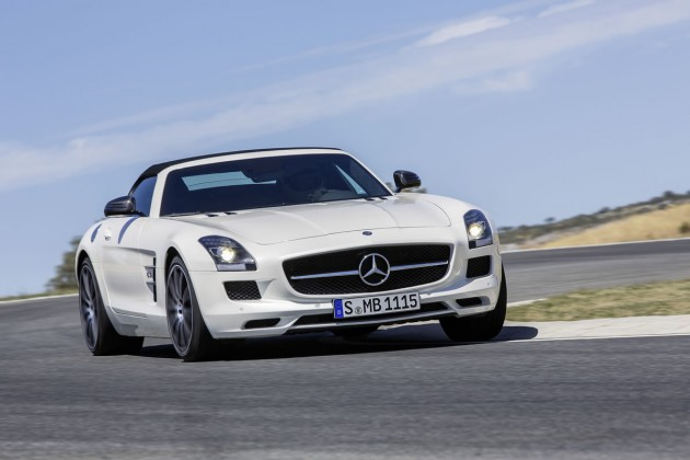 The 2013 Mercedes-Benz SLS AMG GT
