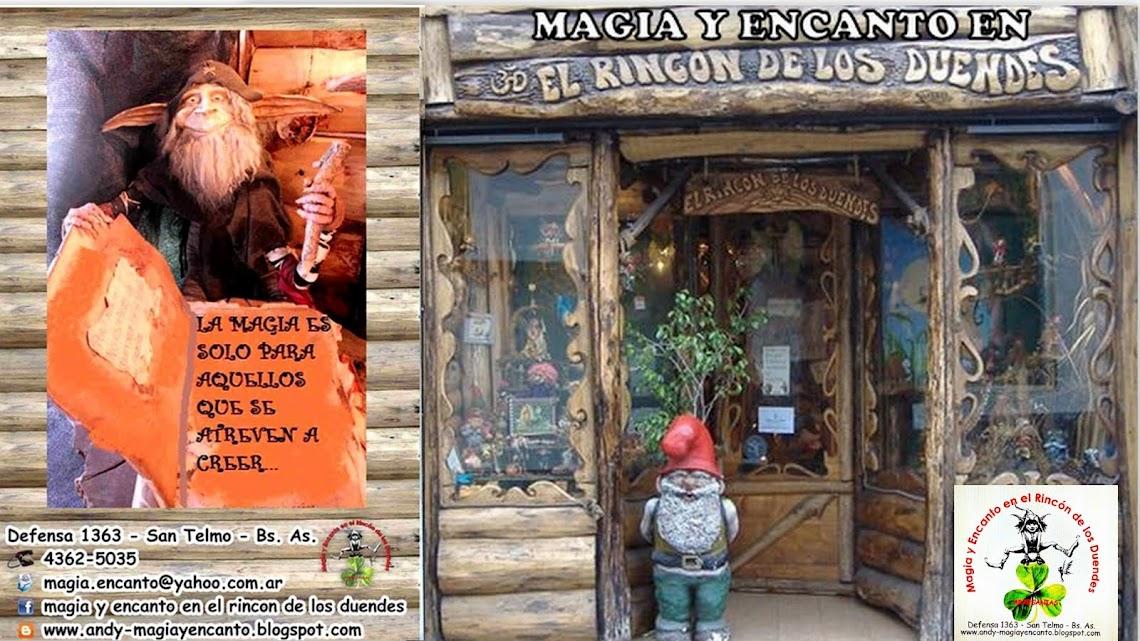 MAGIA  Y ENCANTO EN EL RINCON DE LOS DUENDES