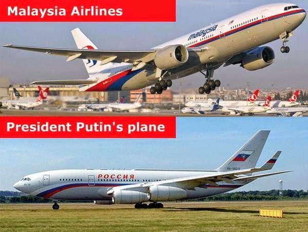 Warna Bendera Rusia Dan Jalur MAS Sama Punca MH17 Ditembak