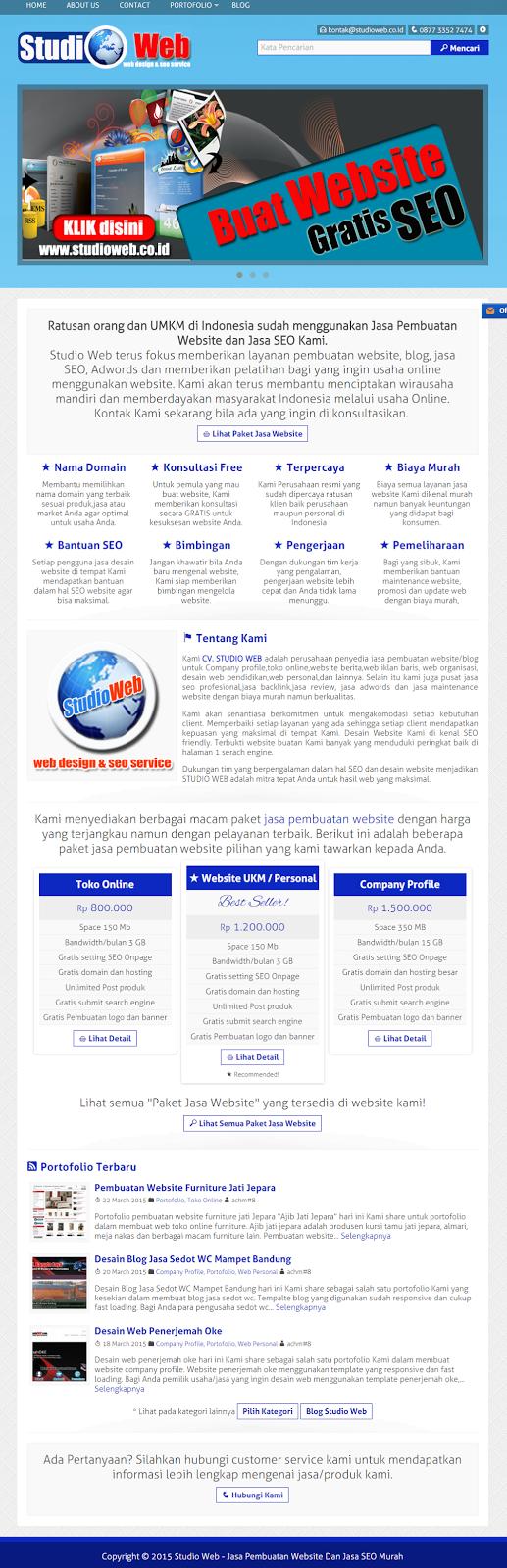 Website Baru Saya