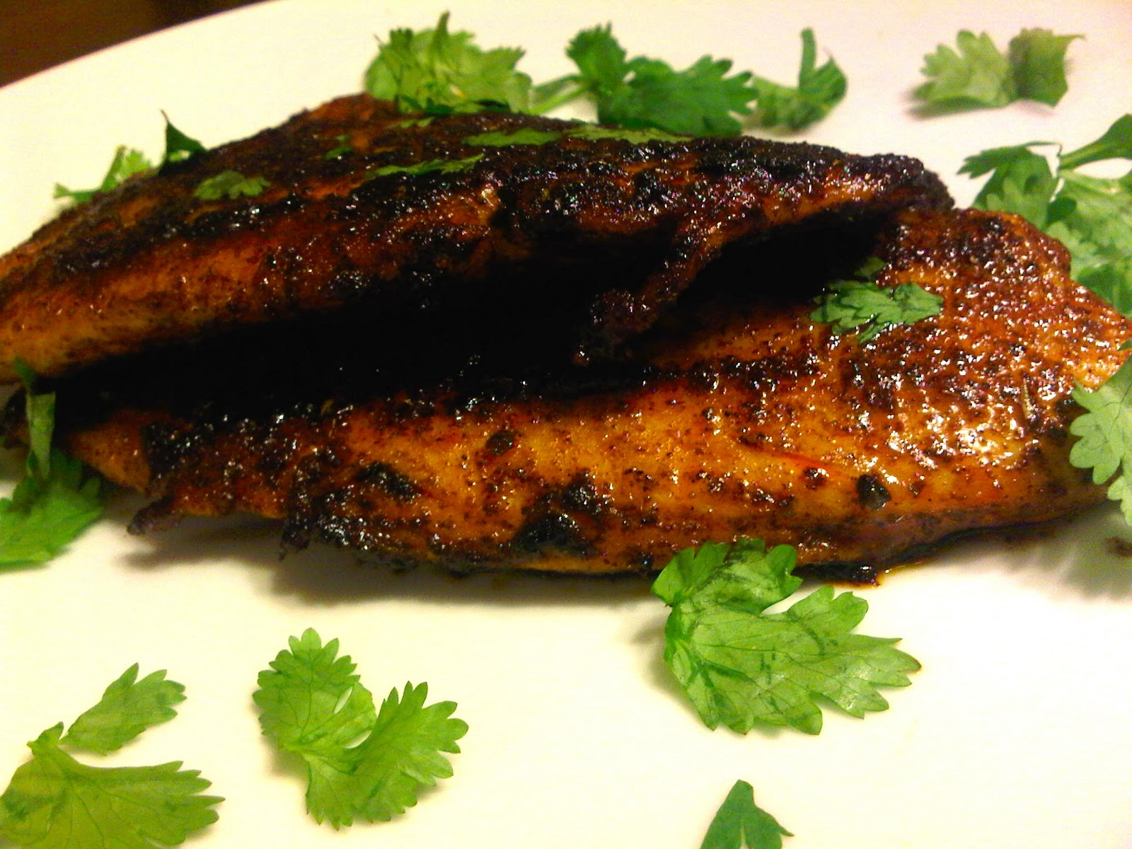 Blackened tilapia makes for some most delicious fish tacos for How to make blackened fish