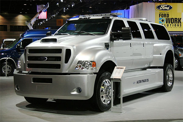Car Modern 2011 Ford Alton F 650 Xuv