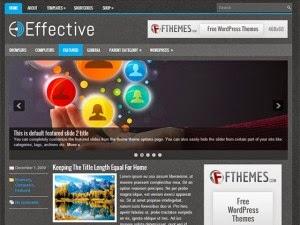 Effective - Free Wordpress Theme