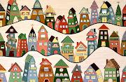 December inspiration is Neighbourhood by Lisa Frances Judd