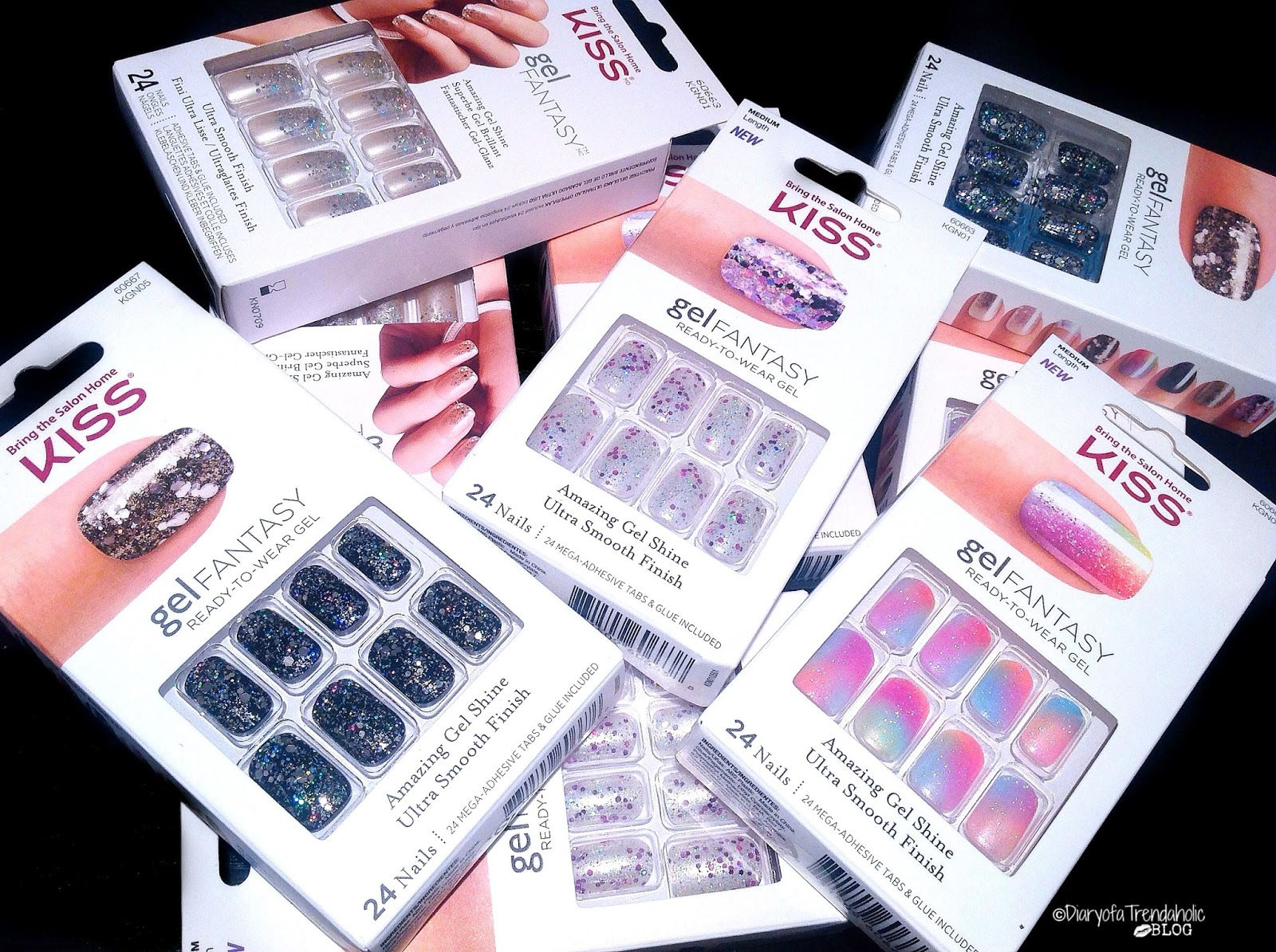 Diary of a Trendaholic : Kiss Gel Fantasy Ready-To-Wear Nails Review ...