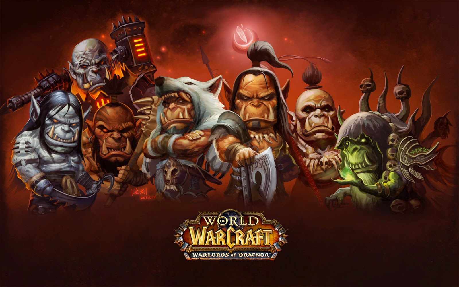 Warlords of Draenor Expansion.