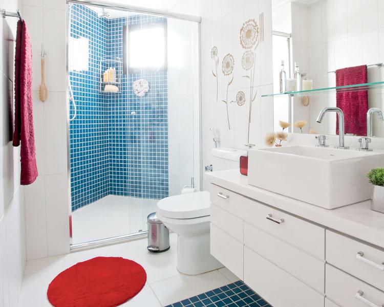 Banheiro clean, moderno e funcional  Imobiliaria Junqueira  Piracicaba -> Banheiro Clean Com Pastilha