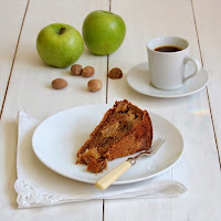 how to make apple and bourbon cake