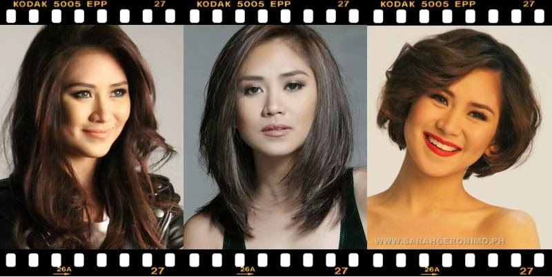 Sarah Geronimo's hair evolution