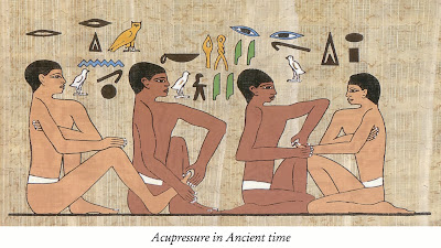 Ancient picture of Acupressure