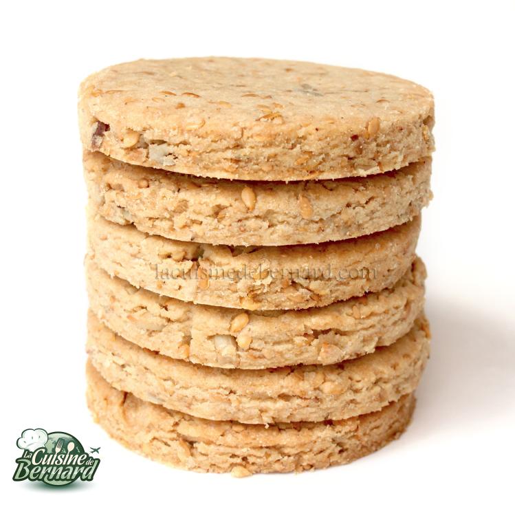 La cuisine de bernard galettes sucr es aux graines sans gluten sans ufs et sans beurre - Galette sarrasin sans oeuf ...