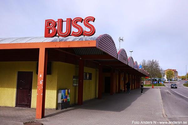 Karlskoga, buss, bussterminal, busstation, station, resecentrum