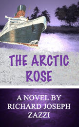 Book cover to the Arctic Rose