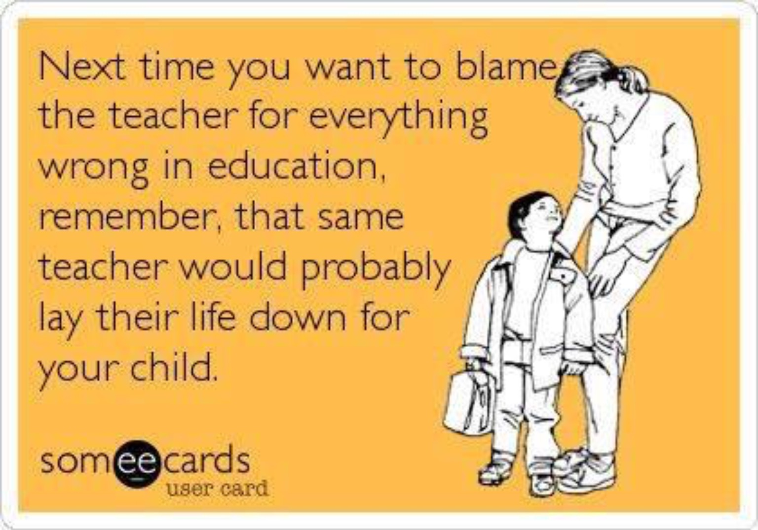 sydney s blog many parents do not work their children at home and then point the finger at the teacher when their child does not progress the same thing can be said