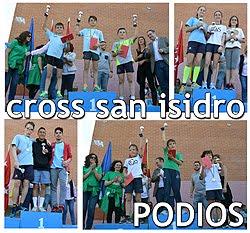 Cross de San Isidro: Podios