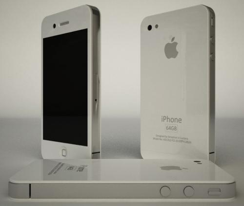 The long awaited white Iphone