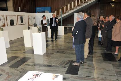 """inauguração da exposição """"diálogos"""""""