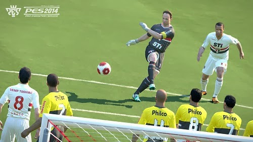 Pro Evlution Soccer 2014 Xbox 360 Screenshot
