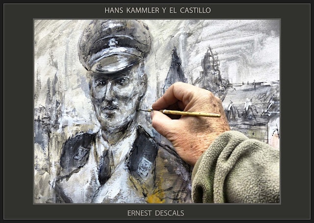 HANS KAMMLER-CASTILLO-ARTE-ALEMANIA-PINTURA-PERSONAJES-AHNENERBE-SS-PROYECTOS-CIENTIFICOS-III REICH-ARTISTA-PINTOR-ERNEST DESCALS-