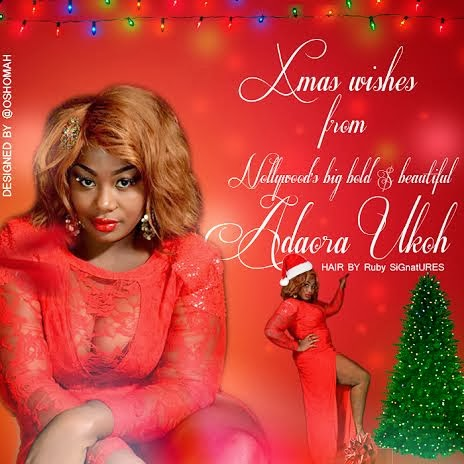 adaora ukoh release hot sexy bosom 2013 christmas cards gistmania