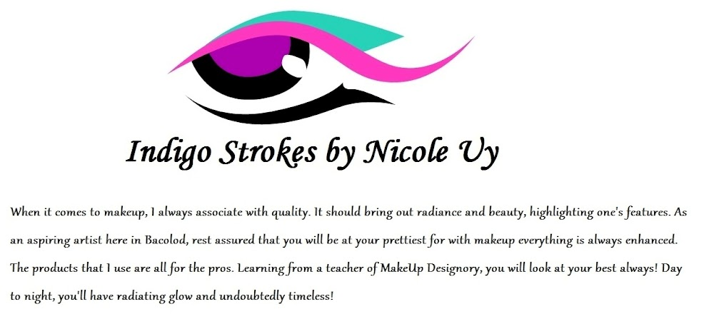 The Indigo Strokes by Nicole Puentevella- Uy