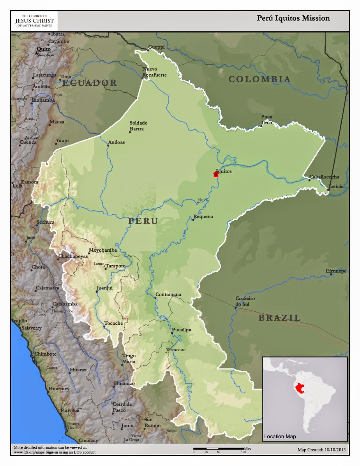 Peru Iquitos Mission