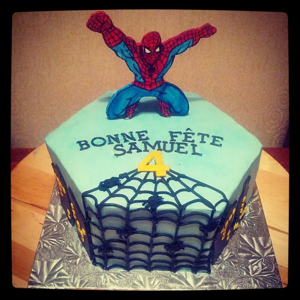 Design Of Spiderman Cake : Second Generation Cake Design: Spiderman Birthday Cake