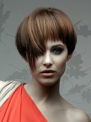 peinado de cabello corto