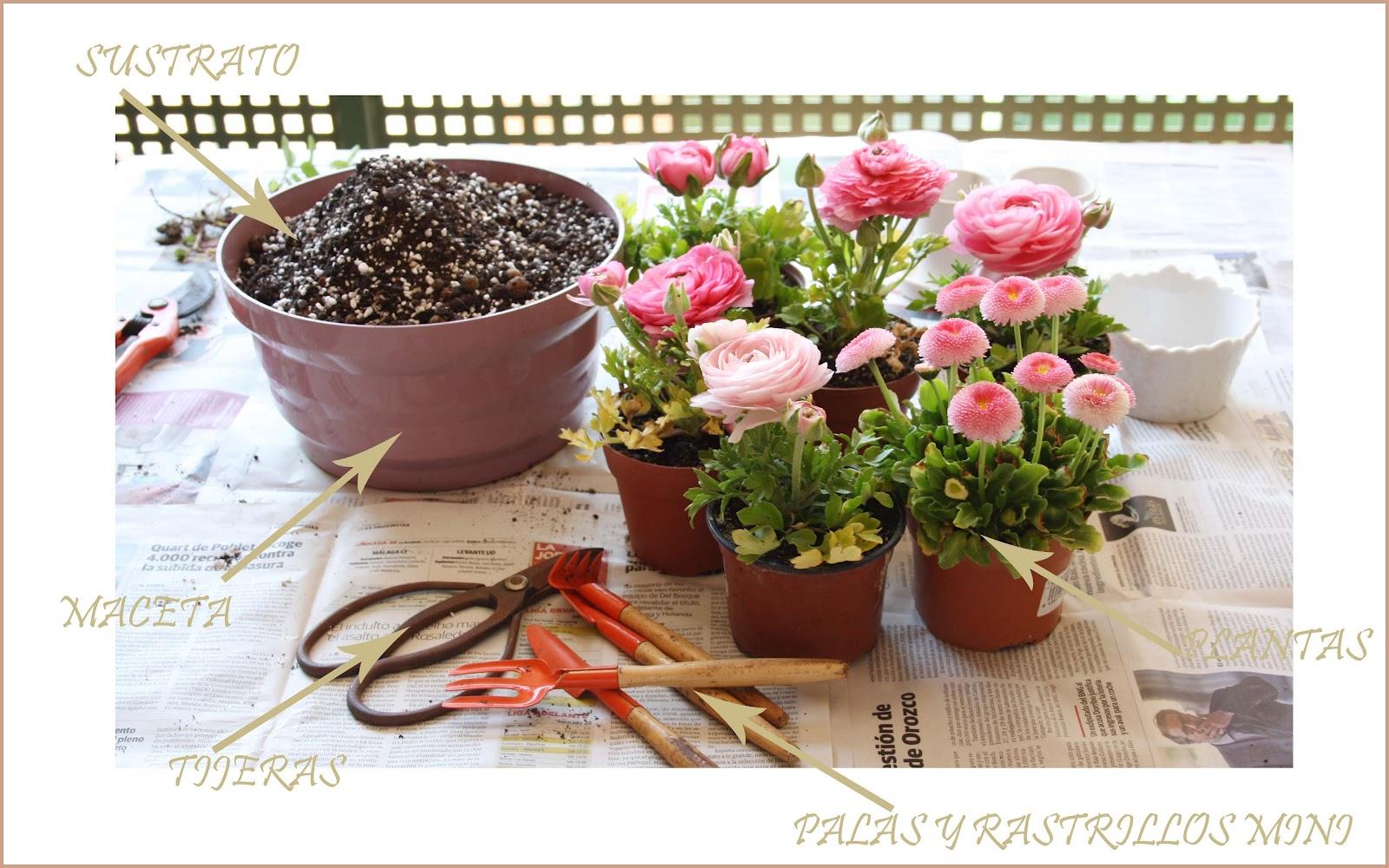 Pensando jardines jardiner a de andar por casa - Jardineria en casa ...