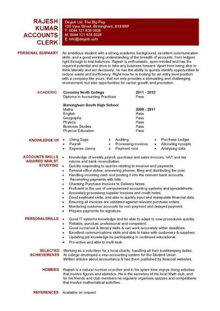 Accounting Clerk Resume Samples3