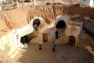 Viviendas excavadas en roca - Matmata - Túnez