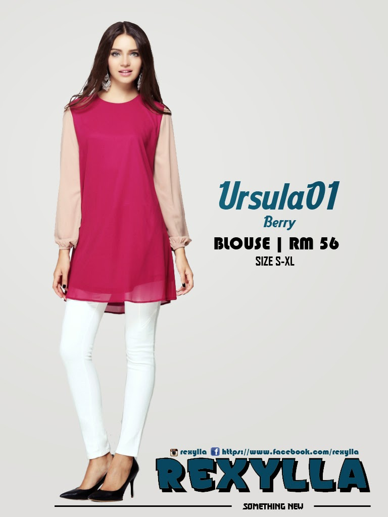 rexylla, blouse, joint colour, ursula01, berry